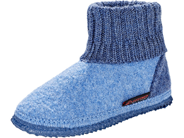 Giesswein Kramsach High Slippers Kids capriblue